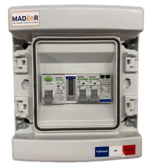 MADEnR - E052 - Coffret AC 0-3K monophasé