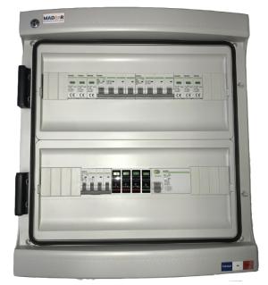 MADEnR - E055-2 - Coffret de protection AC/DC jusqu'à 9kWc tri