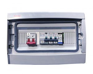 TECHNIDEAL - E053-1 - Coffret de protection AC/DC mono 0-3kWc