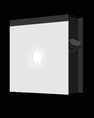 smappee ev wall white socket right