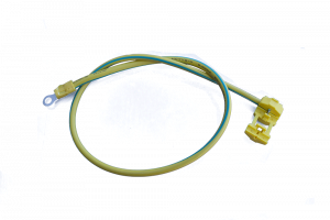 SYSTOVI CPC09 - Câble de mise à la terre sertissable 6mm² - L 500mm