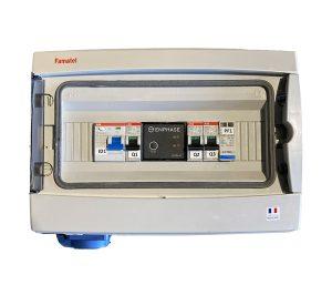 coffret TECHNIDEAL - COF-3/4K-QRELAY - AC jusqu'à 4,5K mono + PC + Q Relay