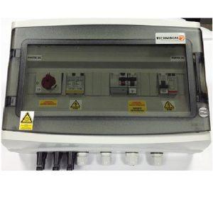 TECHNIDEAL - E042 - Coffret de protection AC/DC mono - 3 à 6kWc
